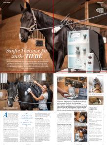 Foto: Artikel über Bioresonanz bei Tieren